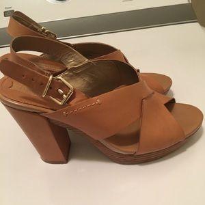 Banana republic heeled sandal